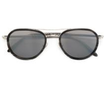 Pilotenbrille mit Kontrastdetails - men