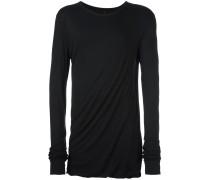 Sweatshirt mit überlangen Ärmeln