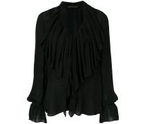 large ruffles blouse