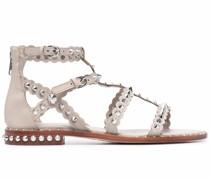 Pixel Sandalen mit spitzen Nieten