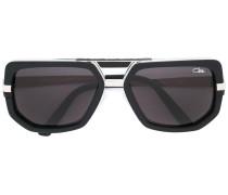 Sonnenbrille mit eckigem Gestell - unisex
