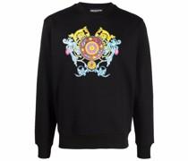 Sweatshirt mit Regalia Baroque-Print
