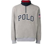 'Polo' Pullover mit Reißverschluss