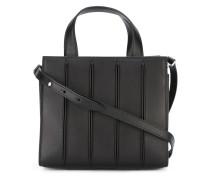 Handtasche mit Ziernähten