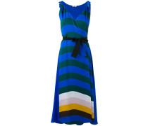 - Seidenkleid mit Streifen - women - Seide - 44