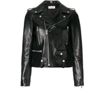 polished classic motorcycle jacket