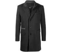 Mantel im Layering-Look
