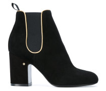 Mia Kid piped detail boots