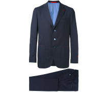 - embroidered two piece suit - men - Bemberg