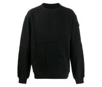 Sweatshirt mit aufgesetzten Taschen