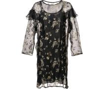 Semitransparentes Kleid mit Rüschen