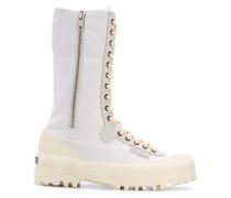 x Paura zipped combat boots