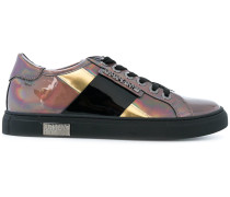 holographic panelled sneakers