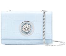 lion embellished shoulder bag