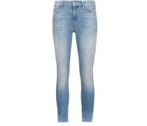 Ungesäumte Skinny-Jeans - women