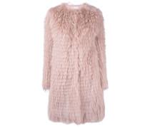 midi fur coat - women - Waschbärpelz - 40