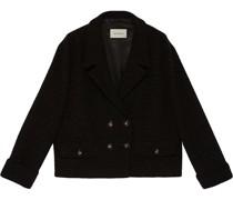 Zweireihiger Tweed-Blazer
