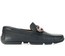 Loafer mit Streifendetail