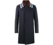 Mantel mit Strickkragen