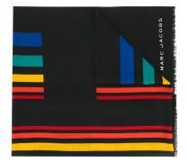 Schal mit bunten Streifen
