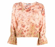 floral-print jumper