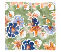 - floral print scarf - men - Seide/Leinen/Flachs