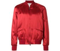 Rockstud Untitled bomber jacket