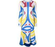 'Surf' Kleid in Colour-Block-Optik