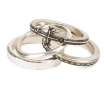 Set aus vier 'Combination Cross' Ringen