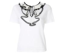 T-Shirt mit Rüschenkragen