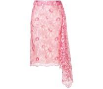 lace asymmetric skirt