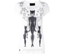 Catwoman print T-shirt