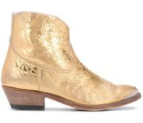 Cowboystiefel im Metallic-Look