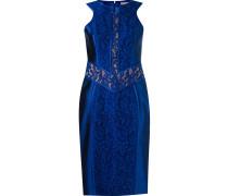 lace patchwork sleeveless dress