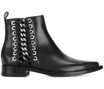 Chelsea-Boots mit Schnürdetail