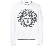Sweatshirt mit Medusa-Print
