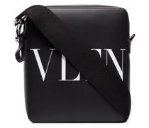 Schultertasche mit VLTN-Print