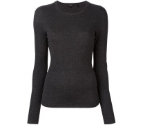 ribbed fine knit jumper
