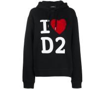 'I Love D2' Kapuzenpullover