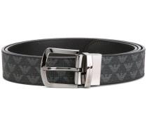 logo patterned belt