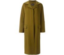Langer Mantel mit drei Knöpfen