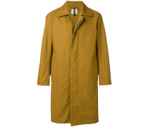 concealed button coat