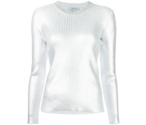 Sweatshirt im Metallic-Look