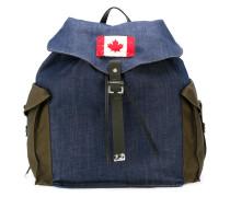 Rucksack mit Kanada-Patch