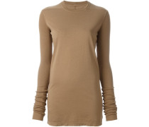 slim-fit longsleeved knitted blouse