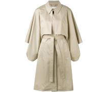 Mantel mit Gürtel - women - Baumwolle - 36