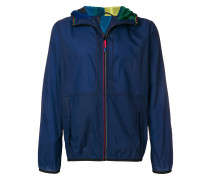 packable micro-ripstop hooded jacket