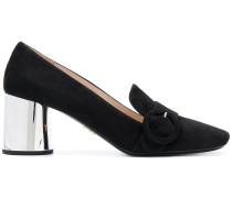 Loafer mit mittelhohem Blockabsatz