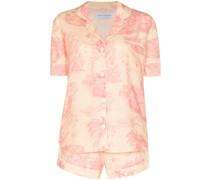 Pyjama mit Lowland Forest-Print
