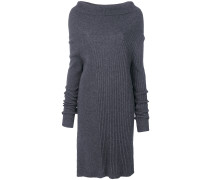 Kleid mit weitem Stehkragen